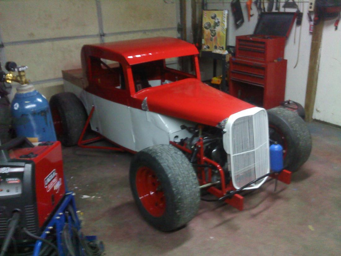 34 Modal A Dwarf Race Truck Turn Key Cheap With Extras 3800